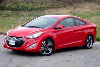 Used 2013 Hyundai Elantra Coupe COUPE **NAVIGATION-LEATHER-ROOF-CAMERA** for sale in York, ON
