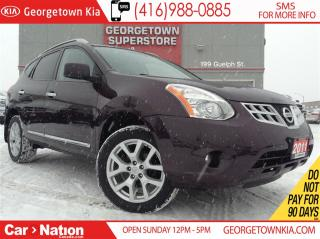 Used 2011 Nissan Rogue SL | ALL WHEEL DRIVE | LEATHER | SUNROOF for sale in Georgetown, ON