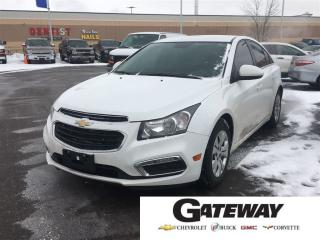 Used 2016 Chevrolet Cruze LT|BLUETOOTH|TINTS|GAS SAVER!!| for sale in Brampton, ON