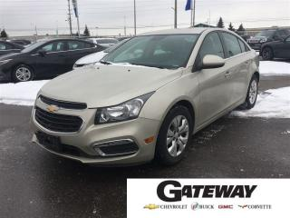 Used 2016 Chevrolet Cruze LT|BLUETOOTH|REAR CAMERA| for sale in Brampton, ON