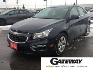 Used 2016 Chevrolet Cruze LT|BLUETOOTH|REMOTE STARTER| for sale in Brampton, ON