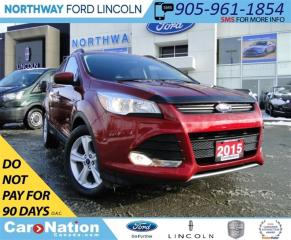 Used 2015 Ford Escape SE |  REAR CAMERA | PANO ROOF | HEATED SEATS | for sale in Brantford, ON