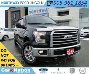 Used 2015 Ford F-150 XLT | REAR CAMERA | NAV | HEATED SEATS | 4X4 | for sale in Brantford, ON