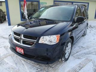 Used 2016 Dodge Grand Caravan FAMILY MOVING SXT MODEL 7 PASSENGER 3.6L - V6.. CAPTAINS.. STOW-N-GO.. ECON-BOOST.. CD/AUX INPUT.. for sale in Bradford, ON