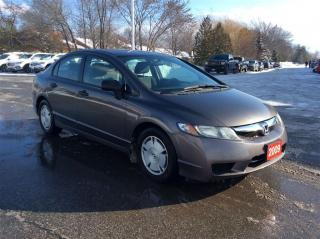Used 2009 Honda Civic DX-G for sale in Milton, ON