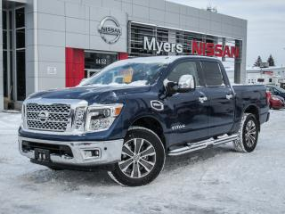 Used 2017 Nissan Titan SL, 4X4, NAVIGATION, LEATHER, BACK UP CAMERA, INTELLIGENT KEY for sale in Orleans, ON