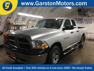 Used 2011 Dodge Ram 1500 SXT*QUADCAB*4WD*POWER WINDOWS/LOCKS/HEATED MIRRORS*CLIMATE CONTROL*AM/FM/XM/CD/AUX*CRUISE CONTROL*SIDE STEPS*ALLOYS*BOX LINER*HITCH RECEIVER w/PIN CON for sale in Cambridge, ON
