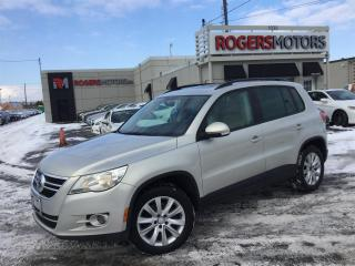 Used 2009 Volkswagen Tiguan 2.0T 4MOTION - PANORAMIC ROOF for sale in Oakville, ON