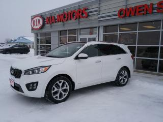 Used 2016 Kia Sorento 2.0L Turbo SX for sale in Owen Sound, ON