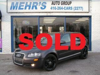 Used 2008 Audi A3 Auto Dual Sunroof Upgraded Alloys for sale in Scarborough, ON
