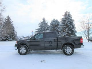 Used 2004 Ford F-150 LARIAT- Super Crew for sale in Thornton, ON