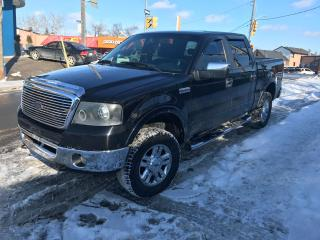 Used 2007 Ford F-150 Lariat SUPERCREWCAB/LEATHER/NAV for sale in York, ON