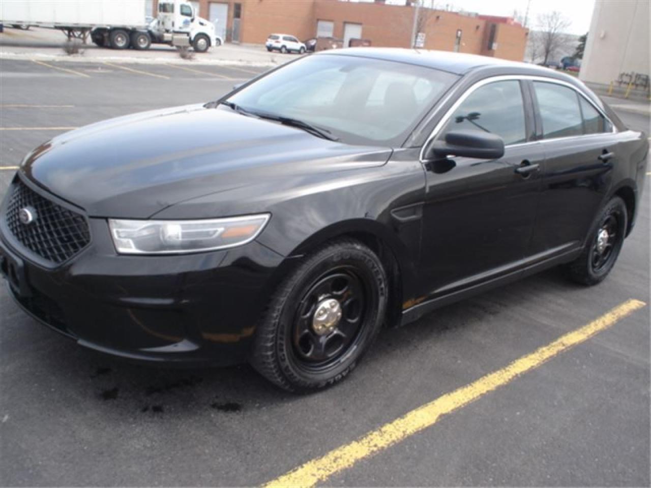 2014 Ford Taurus AWD,BLK/BLK EX POLICE