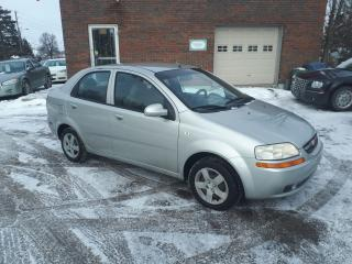 Used 2005 Chevrolet Aveo LT for sale in Guelph, ON