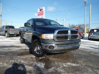 Used 2005 RAM 1500 AUTO 4X4 6PASSINGER QUADS NO RUST NO ACCIDENT A/C for sale in Oakville, ON