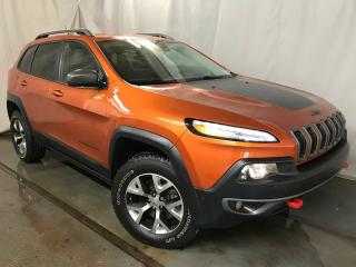 Used 2015 Jeep Cherokee Trailhawk 4x4 LOADED for sale in Edmonton, AB