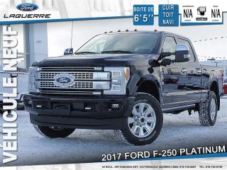 Used 2017 Ford F-250 Platinum Lf for sale in Victoriaville, QC