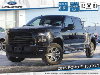 Used 2016 Ford F-150 Xlt, Sport, Crew for sale in Victoriaville, QC