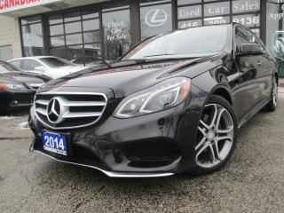 Used 2014 Mercedes-Benz E-Class E250 BlueTEC 4MATIC-NAV-CAM-PANO-ROOF-DIESEL-LETH for sale in Scarborough, ON