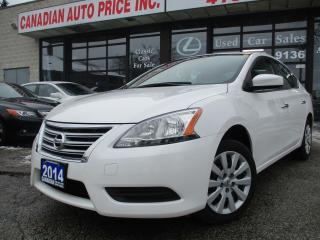 Used 2014 Nissan Sentra AUTO-ALL POWER-BLUETOOTH-A/C for sale in Scarborough, ON