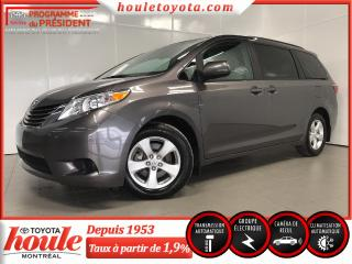 Used 2017 Toyota Sienna LE V6, 8 passagers, Liquidation for sale in Pointe-aux-trembles, QC