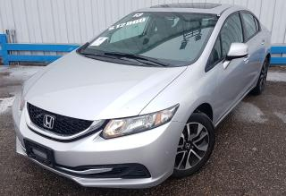 Used 2013 Honda Civic EX *SUNROOF* for sale in Kitchener, ON