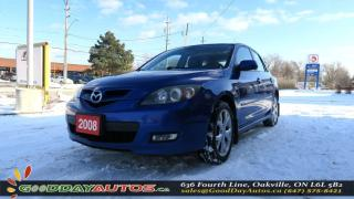 Used 2008 Mazda MAZDA3 GS Sport|NOACCIDENT|LEATHER|ALLOYS|SUNROOF for sale in Oakville, ON