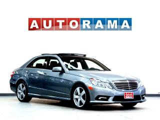 Used 2011 Mercedes-Benz E350 NAVIGATION LEATHER PANORAMIC SUNROOF 4WD for sale in North York, ON