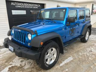 Used 2014 Jeep Wrangler SPORT for sale in Kingston, ON