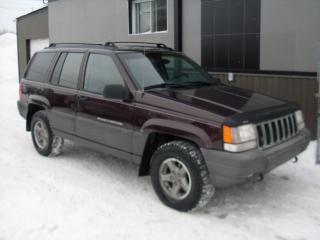 Used 1998 Jeep Grand Cherokee 4x4 LAREDO * 4.0 L * A-1 for sale in Laval, QC