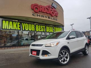 Used 2015 Ford Escape Titanium PANO ROOF LTHR H-TED SEATS R CAM for sale in Scarborough, ON