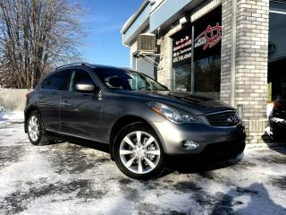 Used 2010 Infiniti EX35 Traction intégrale, 4 portes Luxury Toit for sale in Longueuil, QC