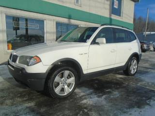 Used 2005 BMW X3 4 portes traction intégrale 2,5i for sale in Saint-jerome, QC