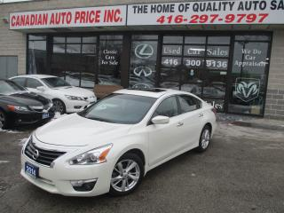 Used 2014 Nissan Altima 2.5 SV-SUNROOF-CAMERA-BLUETOOTH--HEATED-ALLOYS for sale in Scarborough, ON