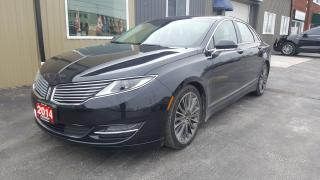 Used 2014 Lincoln MKZ V6 AWD-NAV-PAN ROOF-BACK UP CAMERA-REMOTE START for sale in Tilbury, ON