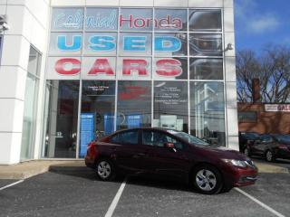 Used 2014 Honda Civic LX AUTOMATIC HEATED BUCKET SEATS for sale in Halifax, NS