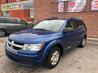 Used 2010 Dodge Journey 2.4L/ONE OWNER/NO ACCIDENT/CERTIFIED/WARRANTY INCL for sale in Cambridge, ON