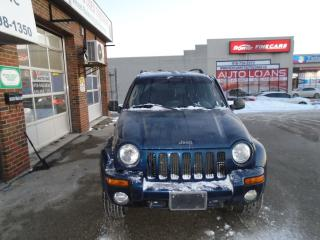 Used 2002 Jeep Liberty Limited (No HST Until January 31, 2018) for sale in Scarborough, ON