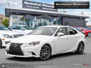 Used 2014 Lexus IS 250 AWD F SPORT PKG |NAV|CAMERA|PHONE|FAC.WARRANTY for sale in Scarborough, ON