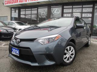Used 2014 Toyota Corolla CE-BLUETOOTH-ALL POWER for sale in Scarborough, ON