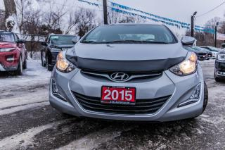 Used 2015 Hyundai Elantra SPORT/1 OWNER/NO ACCIDENT/SUNROOF/BKUP CAM/ALLOYS for sale in Brampton, ON