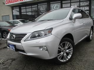 Used 2014 Lexus RX 350 TECH-PKG-NAVIGATION-CAMERA-LEATHER-SUNROOF for sale in Scarborough, ON