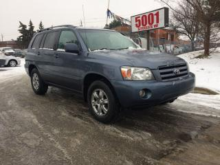 Used 2007 Toyota Highlander AWD,SPORT,LEATHER,SAFETY+3YEARS WARRANTY INCLUDED for sale in North York, ON