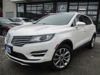 Used 2015 Lincoln MKC AWD-NAV-CAMERA-LEATHER-PANO-ROOF for sale in Scarborough, ON