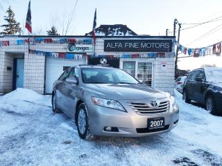 Used 2007 Toyota Camry XLE TOP OF THE LINE!! ((CERTIFIED)) for sale in Hamilton, ON