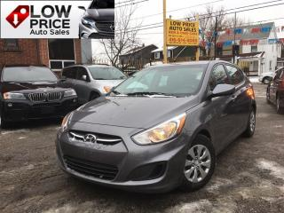 Used 2016 Hyundai Accent GL*AllPwrOpti*Bluetooth*Automatic*HyundaiWarranty* for sale in York, ON