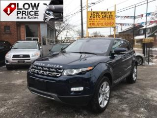 Used 2013 Land Rover Evoque PanoramicRoof*Alloys*Bluetooth*LandRoverWarr* for sale in York, ON