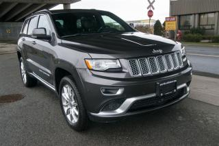 Used 2015 Jeep Grand Cherokee Summit Loaded! Air Ride, Low KM for sale in Langley, BC