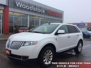 Used 2011 Lincoln MKX Base  - Leather Seats -  Cooled Seats - $150.39 B/W for sale in Woodstock, ON