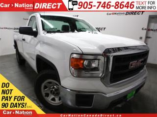 Used 2015 GMC Sierra 1500 | WE WANT YOUR TRADE| OPEN SUNDAYS| for sale in Burlington, ON
